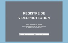"46007 - Registre ""Vidéoprotection"" - 210 x 297 - 104 pages"